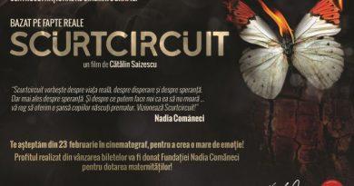 """Scurtciruit"", un film emotionant sustinut de Fundatia Nadia Comaneci"