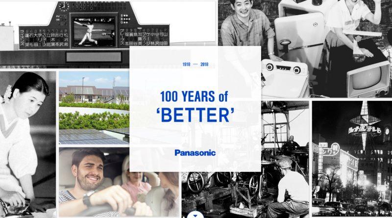 100 de ani Panasonic! O moştenire de excepţie pentru un viitor de neegalat